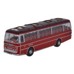 Plaxton Panorama Bus - Midland rood - Oxford Diecast - schaal N