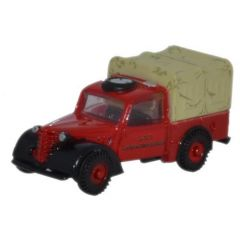 Austin Tilly - London Fire Brigade - Oxford Diecast - schaal N