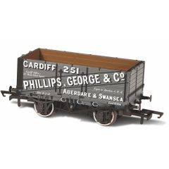7 plank mineralen wagon - Phillips, George & Co - Oxford Rail