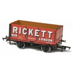 7 plank mineralen wagon - Rickett - Oxford Rail