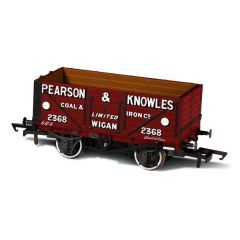 7 plank mineralen wagon - Pearson & Knowles - Oxford Rail