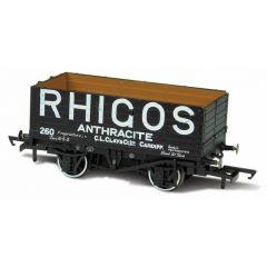 7 plank mineralen wagon - Rhigos Anthracite Cardiff - Oxford Rail
