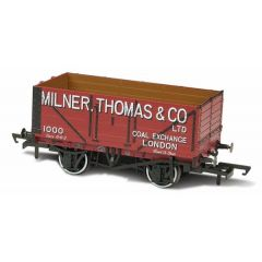 7 plank mineralen wagon - Milner Thomas And Co London - Oxford Rail