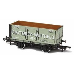 7 plank mineralen wagon - Chatterley - Whitfield Tunstall - Oxford Rail
