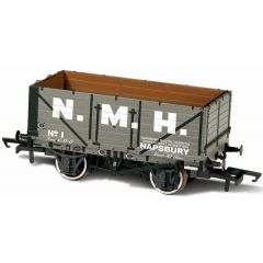 7 plank mineralen wagon - Napsbury Hospital Cmtte No 1 -  Oxford Rail