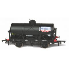 Tank wagon - 12 ton - Mobil - Oxford Rail - schaal OO