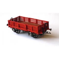 Witmetalen bouwpakket -  NER wagon voor vis transport