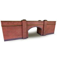Bouwpakket N: spoorbrug - baksteen - Metcalfe - PN146