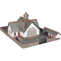 Bouwpakket N: dorpsschool - biliotheek - dorpshuis - Metcalfe - PN153