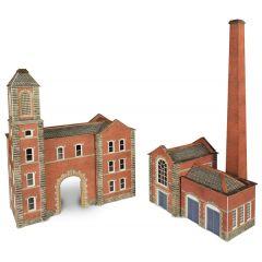 Bouwpakket N: ketelhuis en fabrieksingang - Metcalfe - PN184