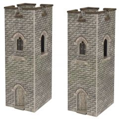 Bouwpakket N: uitkijktoren kasteel - Metcalfe - PN192