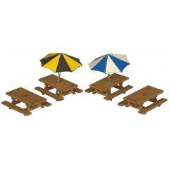 Bouwpakket N: Picknick tafels - Metcalfe - PN810