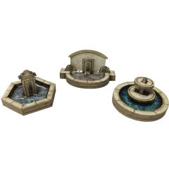 Bouwpakket N: fonteinen - Metcalfe - PN823