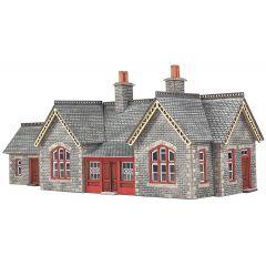 Bouwpakket N: station Settle en Carlisle Railway - Metcalfe - PN933