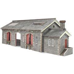 Bouwpakket N: goederenloods Settle CarlisleRailway  - Metcalfe - PN936