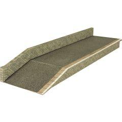 Bouwpakket HO/OO: perron - natuursteen - Metcalfe - PO235