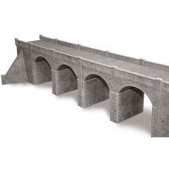 Bouwpakket HO/OO: dubbelspoor viaduct - natuursteen - Metcalfe - PO241