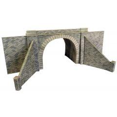 Bouwpakket HO/OO: dubbelspoor tunnelingangen - natuursteen - Metcalfe - PO242