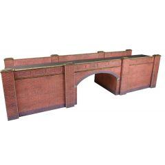 Bouwpakket HO/OO: spoorbrug - baksteen - Metcalfe - PO246
