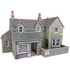 Bouwpakket HO/OO: dorpswinkel en cafe - Metcalfe - PO254