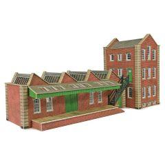 Bouwpakket HO/OO: klein fabriek - Metcalfe - PO283