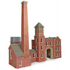Bouwpakket HO/OO: Fabrieksingang en ketelhuis - Metcalfe - PO284