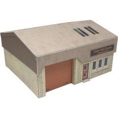 Bouwpakket HO/OO: Modern industrieel gebouw - Metcalfe - PO285