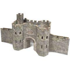 Bouwpakket HO/OO: poortgebouw kasteel - Metcalfe - PO291