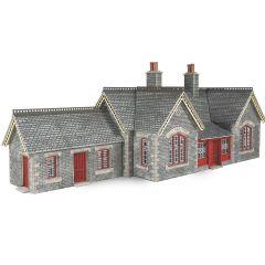 Bouwpakket HO/OO: Settle / Carlisle Railway station - Metcalfe - PO333