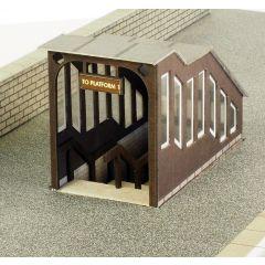 Bouwpakket HO/OO: Perron onderdoorgang - Metcalfe - PO400