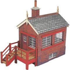 Bouwpakket HO/OO: klein seinhuis - Metcalfe - PO430
