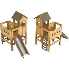 Bouwpakket HO/OO: speel- en klimtoestellen - Metcalfe - PO513