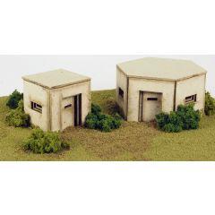 Bouwpakket HO/OO: WW2 bunkers - Metcalfe - PO520