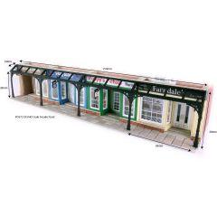 Bouwpakket HO/OO: winkel overkappingen - Metcalfe - PO572