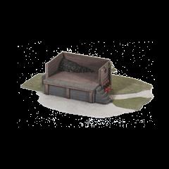 Bouwpakket HO: kolen laadplatform