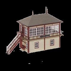 Bouwpakket HO: standaard 4d seinhuis van Midland Railway