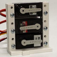 Standaard Model 2 -  servosteun voor maximaal drie standaard servo's