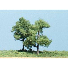5 bomen met rechte stammen  - voor modelbouw - Woodland scenics TK13