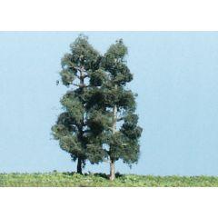 4 kolomvormige dennenbomen - voor modelbouw - Woodland scenics TK20