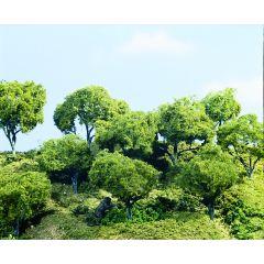 Hardhout bos  - voor modelbouw - Woodland scenics TK28