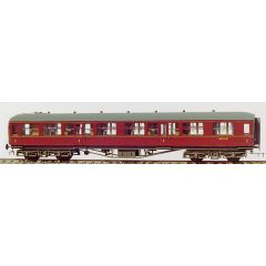 Bouwpakket - Hawksworth 1e klasse rijtuig met corridor GWR en BR