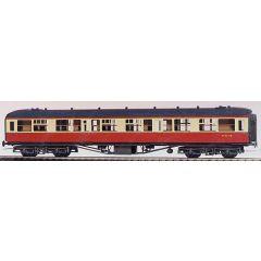 Bouwpakket - Hawksworth 3e klasse rijtuig met corridor GWR en BR