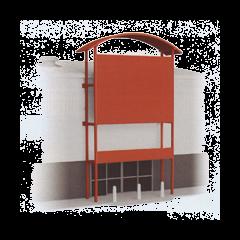 Bouwpakket HO: bouwmarkt voorzijde voor SSM300