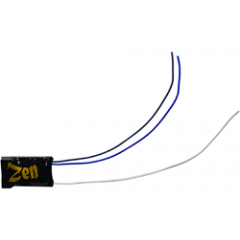 Zen Black kleine decoder - 8 pin - DCC concepts