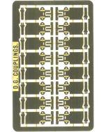 DG automatische koppelingen voor P4 EM modeltreinen