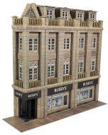 Bouwpakket HO/OO: Half relief warenhuis - Metcalfe - PO279