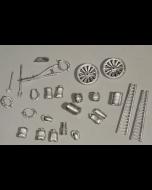set toebehoren voor een boerderij - Modelbouw scenery materiaal - SSAM100 - Wills