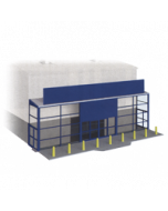 Bouwpakket HO: supermarkt voorzijde voor SSM300