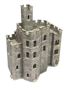 Bouwpakket HO/OO: hoofdgebouw kasteel - Metcalfe - PO294